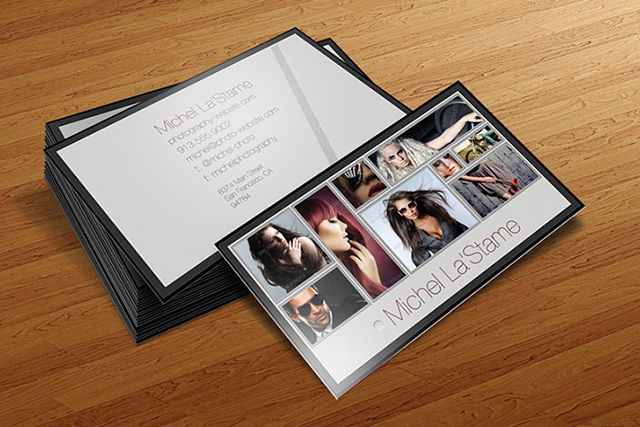 Amazing print ready free Photographer Business Card Template, available for download as PSD file.