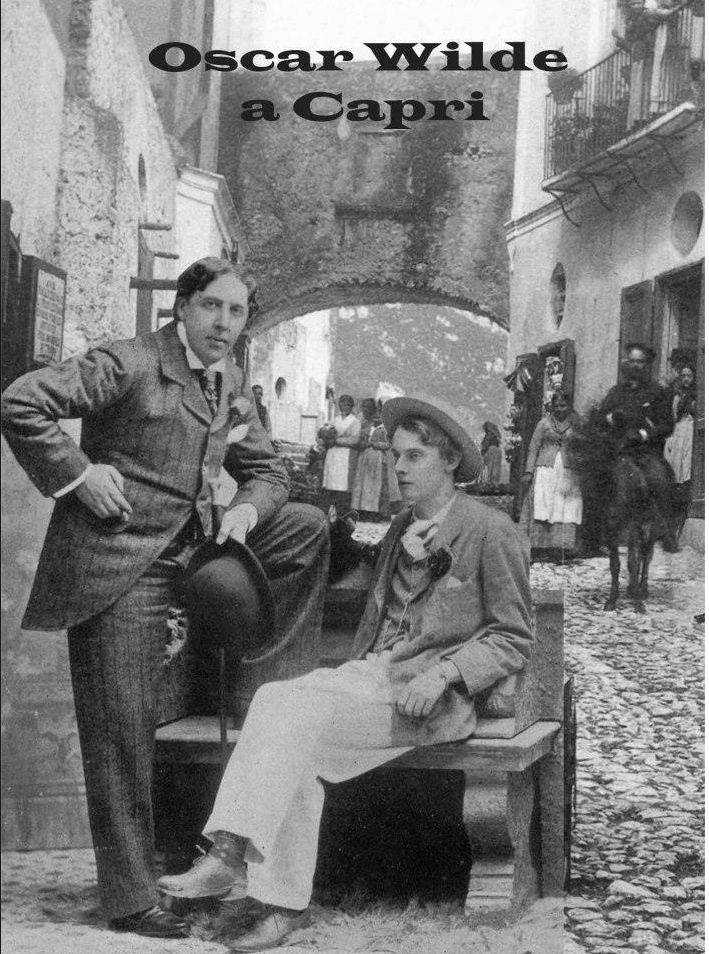 Oscar Wilde in Capri. Photo via Luigi Galano
