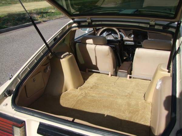 1982 Datsun 280zx Turbo Trunk Jpg 600 450 Datsun Turbo Car Seats
