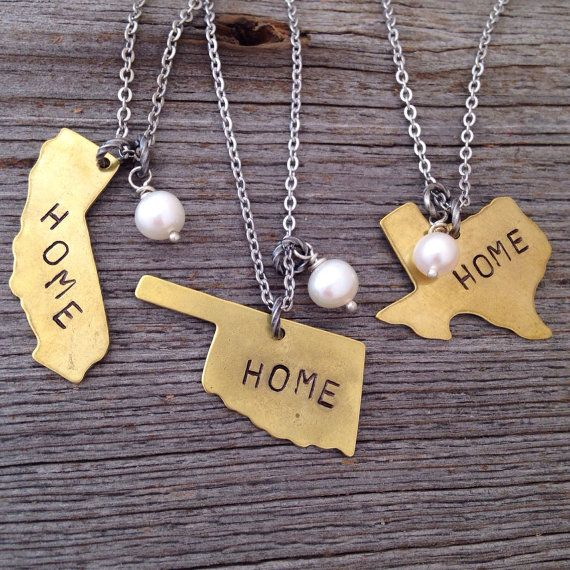 Home state and pearl necklace preppy pinterest pearl necklace home state and pearl necklace aloadofball Gallery