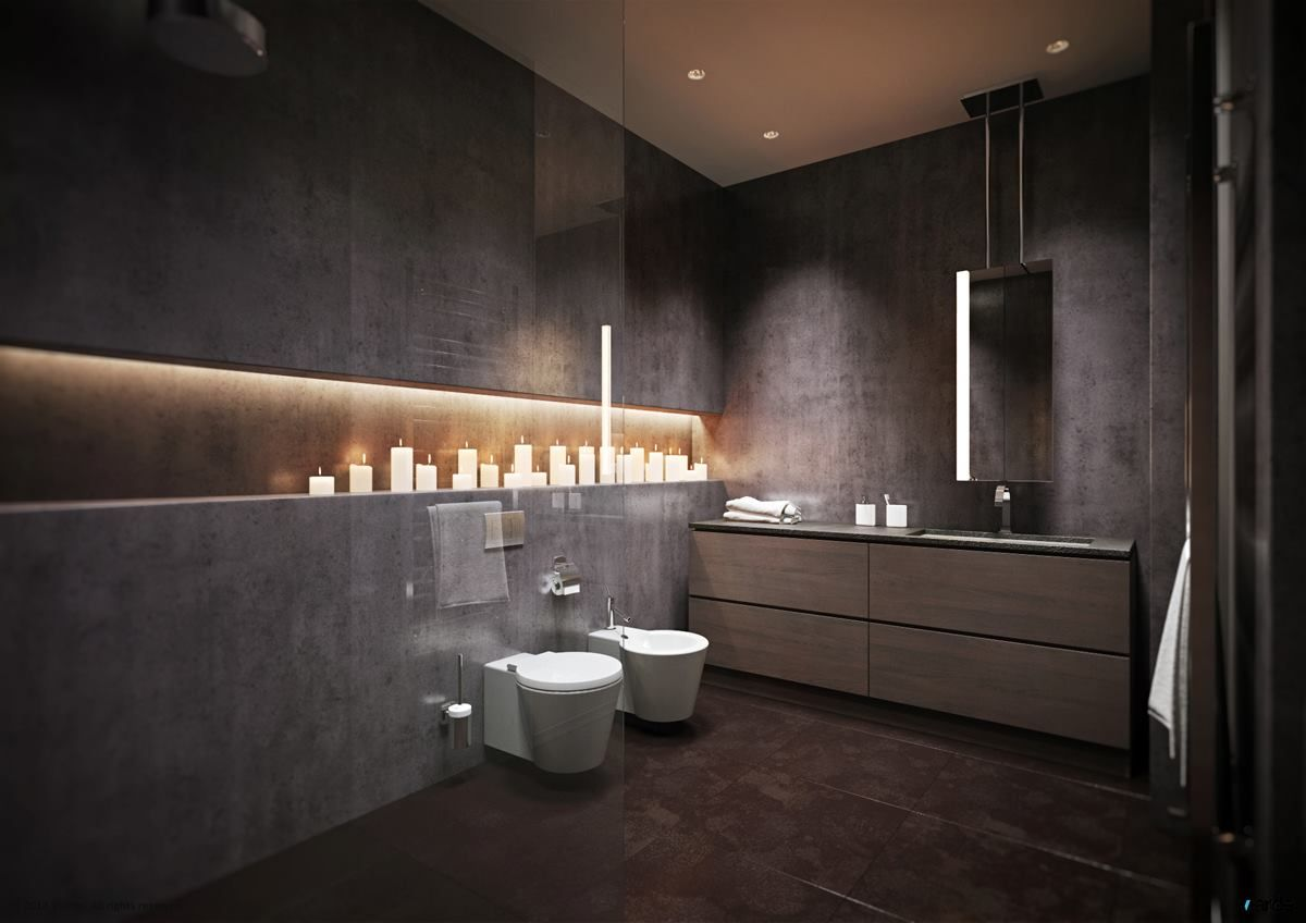 Light Grey Bathroom Ideas Pictures Remodel And Decor  Bathroom Unique Modern Grey Bathroom Designs Design Inspiration