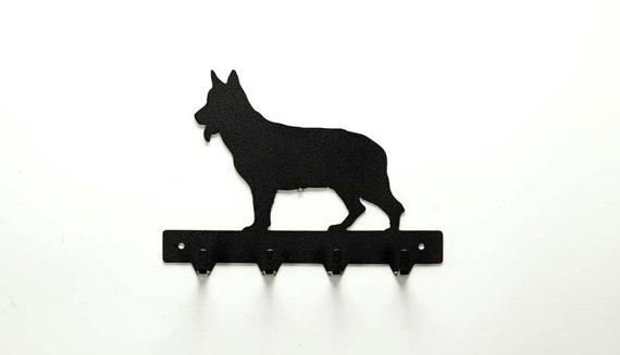 German Shepherd Leash Rack Products Key Hooks Medal Rack Key Rack