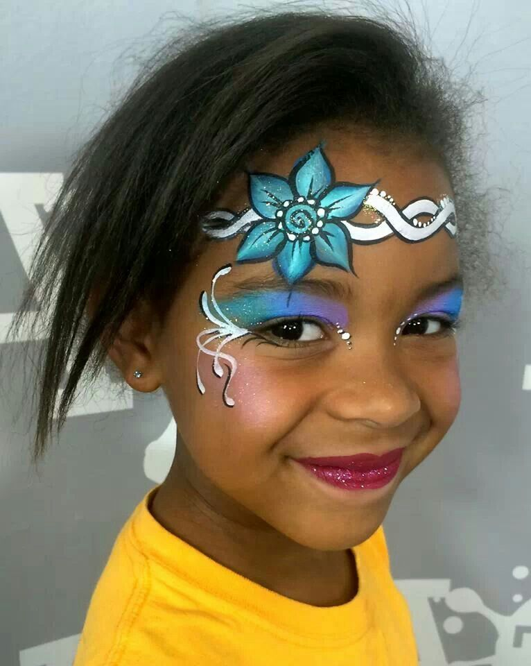 Pretty silly heather girl face painting ideas for Pretty designs to paint