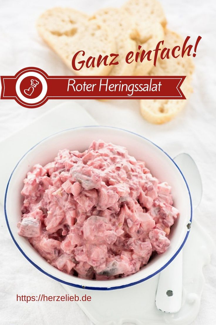 Photo of Red herring salad – I love it as a matja salad (spread)