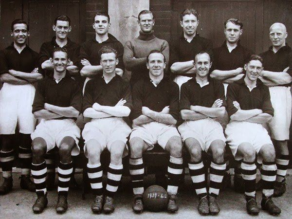"TheOfficialLFCStory on Twitter: ""Liverpool FC 1939. With the legendary Matt Busby as Captain. https://t.co/EvSiqmEqP6"""