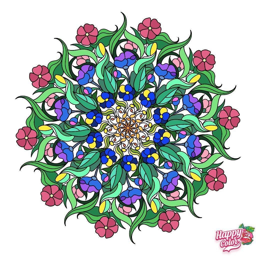 Pin de римма давлетбаева en Mandalas de colores | Mandalas ...