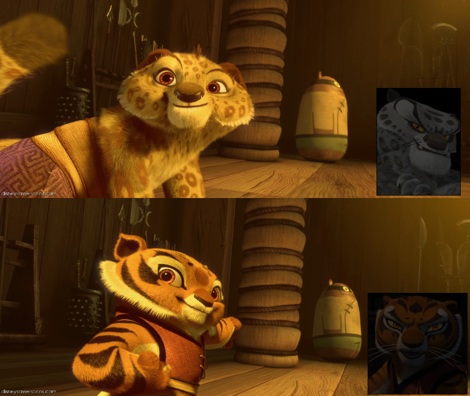 Which Young Characters Is The Cutest Tai Lung From The Top Or Tigress From The Bottom Make Your Comment Kung Fu Panda Kung Fu Tigress Kung Fu Panda