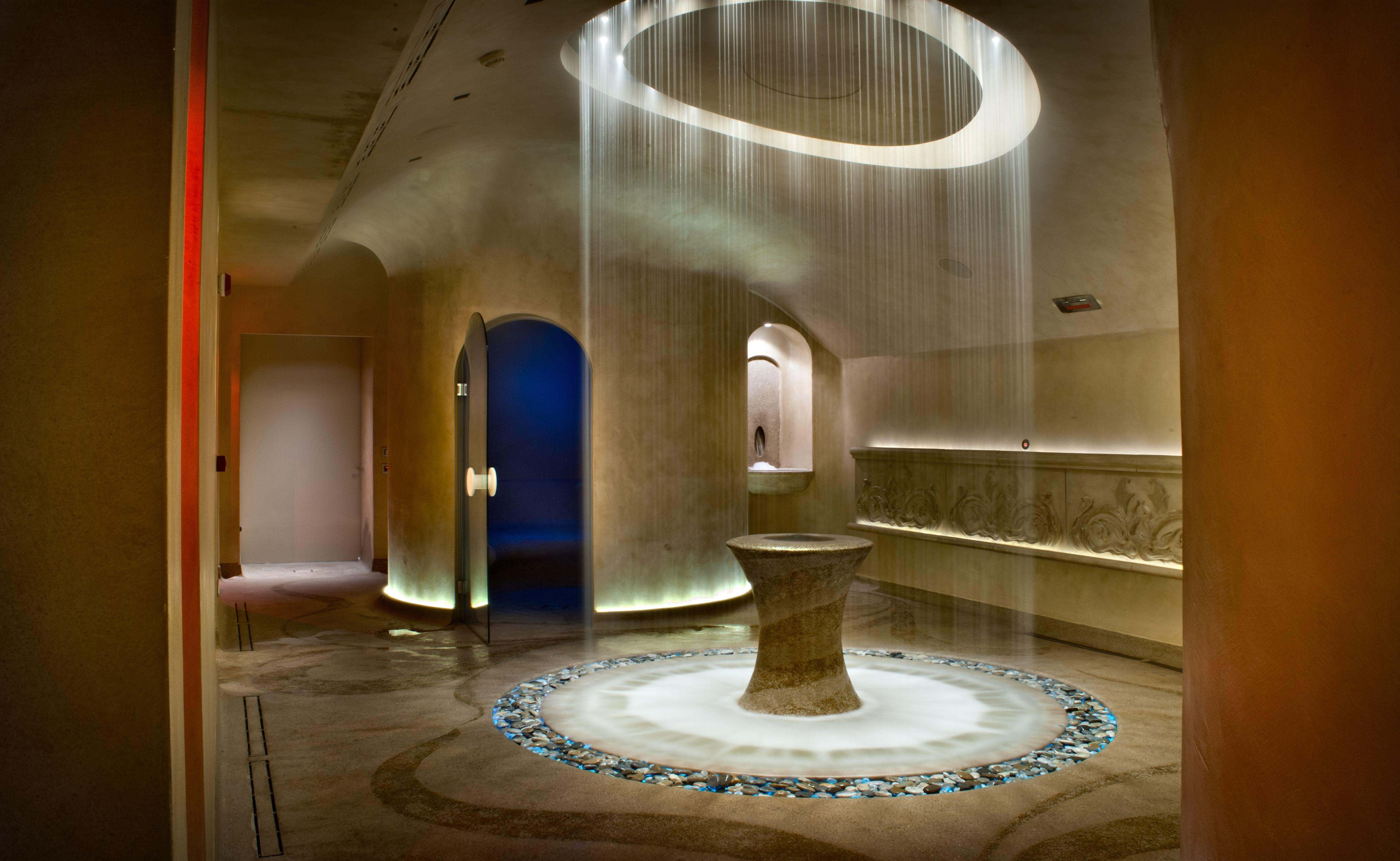 Piscina bagno turco elinca light systems