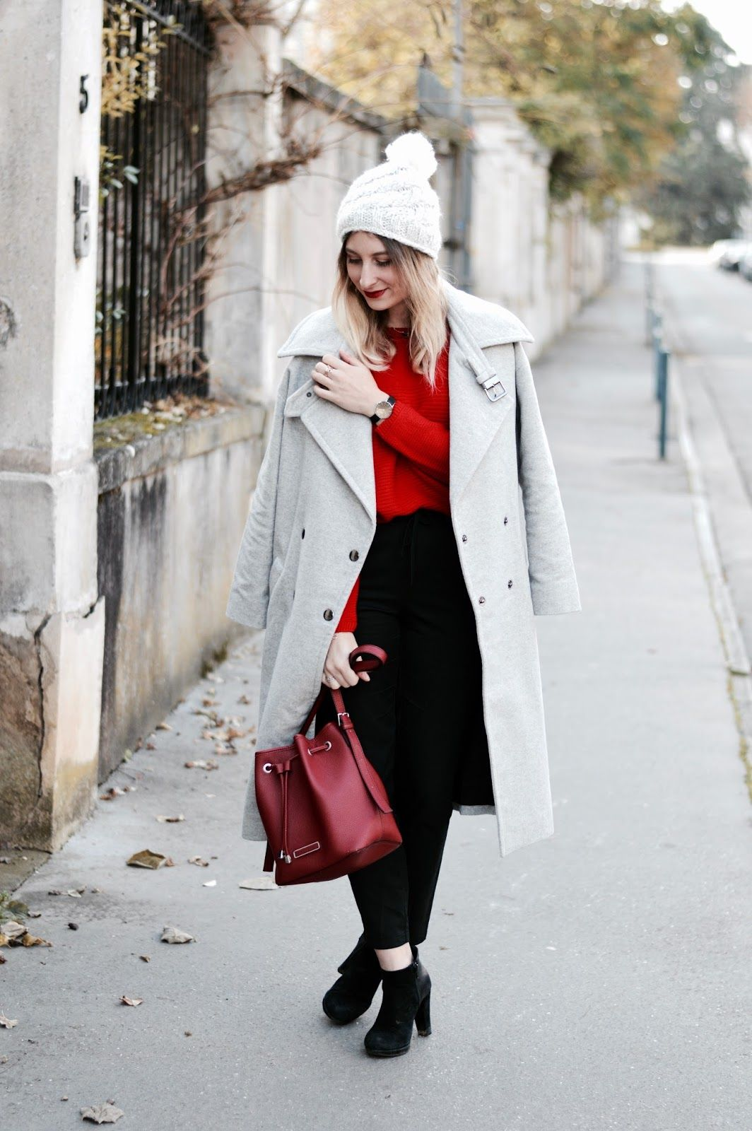 Manteau gris 2017