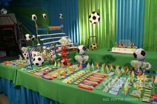 mesa de dulces futbol mesa de dulces pinterest