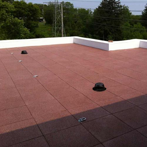 Rooftop Deck Flooring Features: Flat Roof Deck Flooring