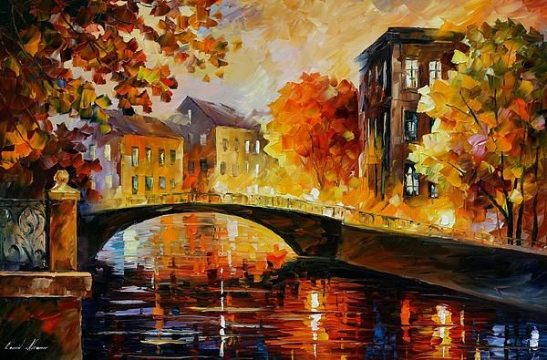 The River of Memories - By Leonid Afremov
