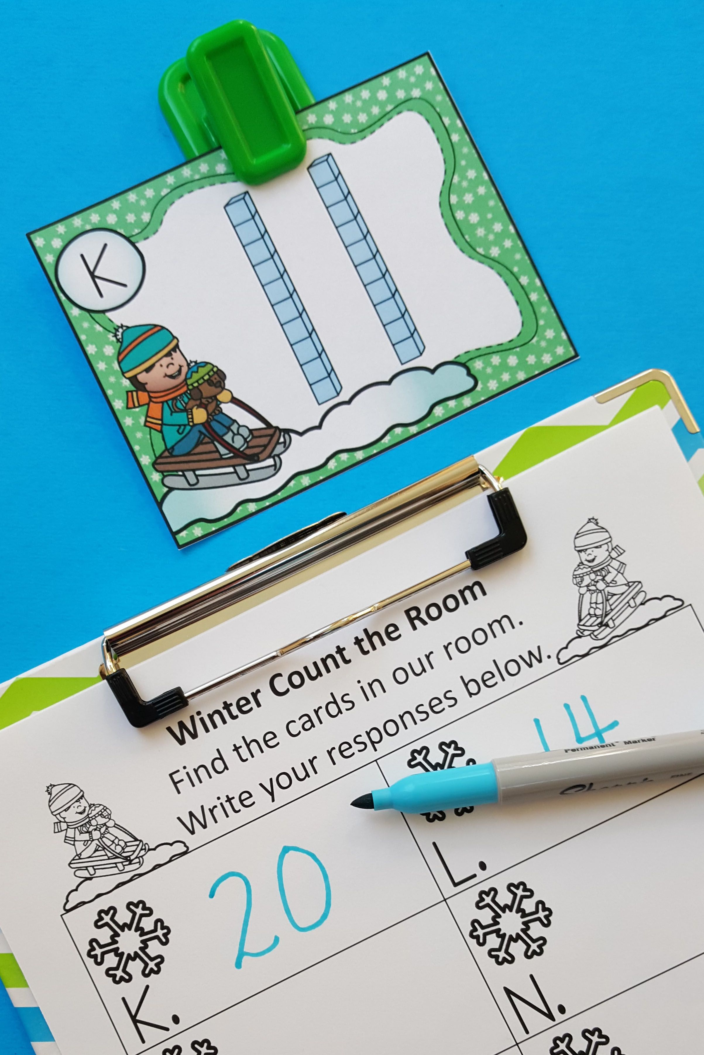 Winter Count the Room | Pinterest | Subitizing, Mental maths and ...