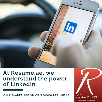 Resume.ae Build your Conenctions on LinkedIn, follow us