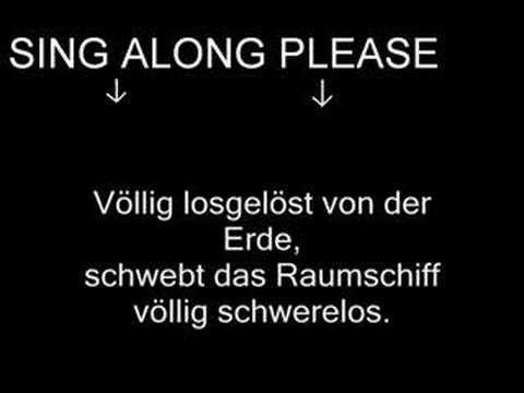 Major Tom Coming Home In German W Synthesizer Space Capsule Liedjes Muziek