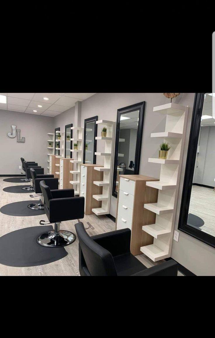 20 Ideas For A Stylish Beauty Salon  Salon interior design, Salon