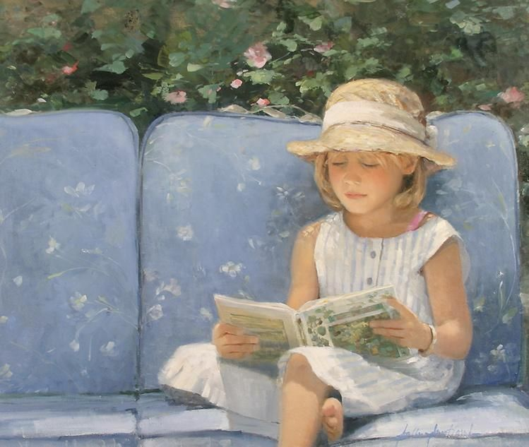 A quiet corner by Sally Swatland