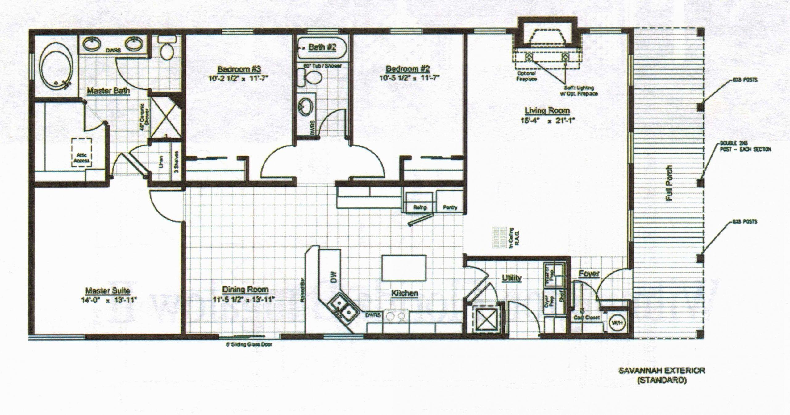 Tiny 4 Bedroom House Plans