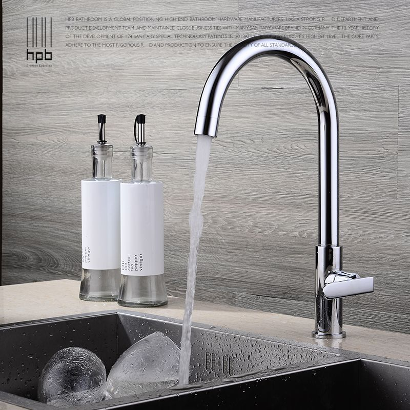 Copper Cold Kitchen Faucet Sink Sink Faucet Bathroom Balcony Can