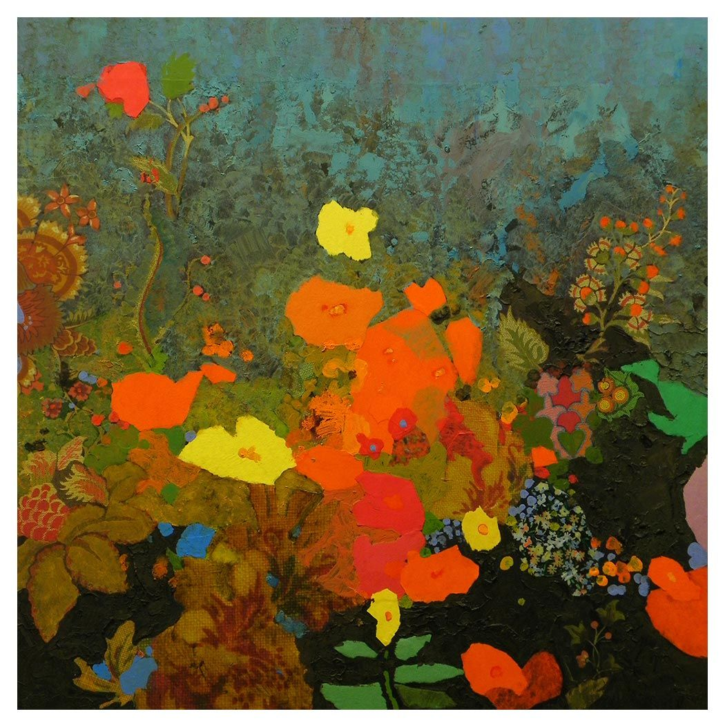Florals and other mark english english art collage