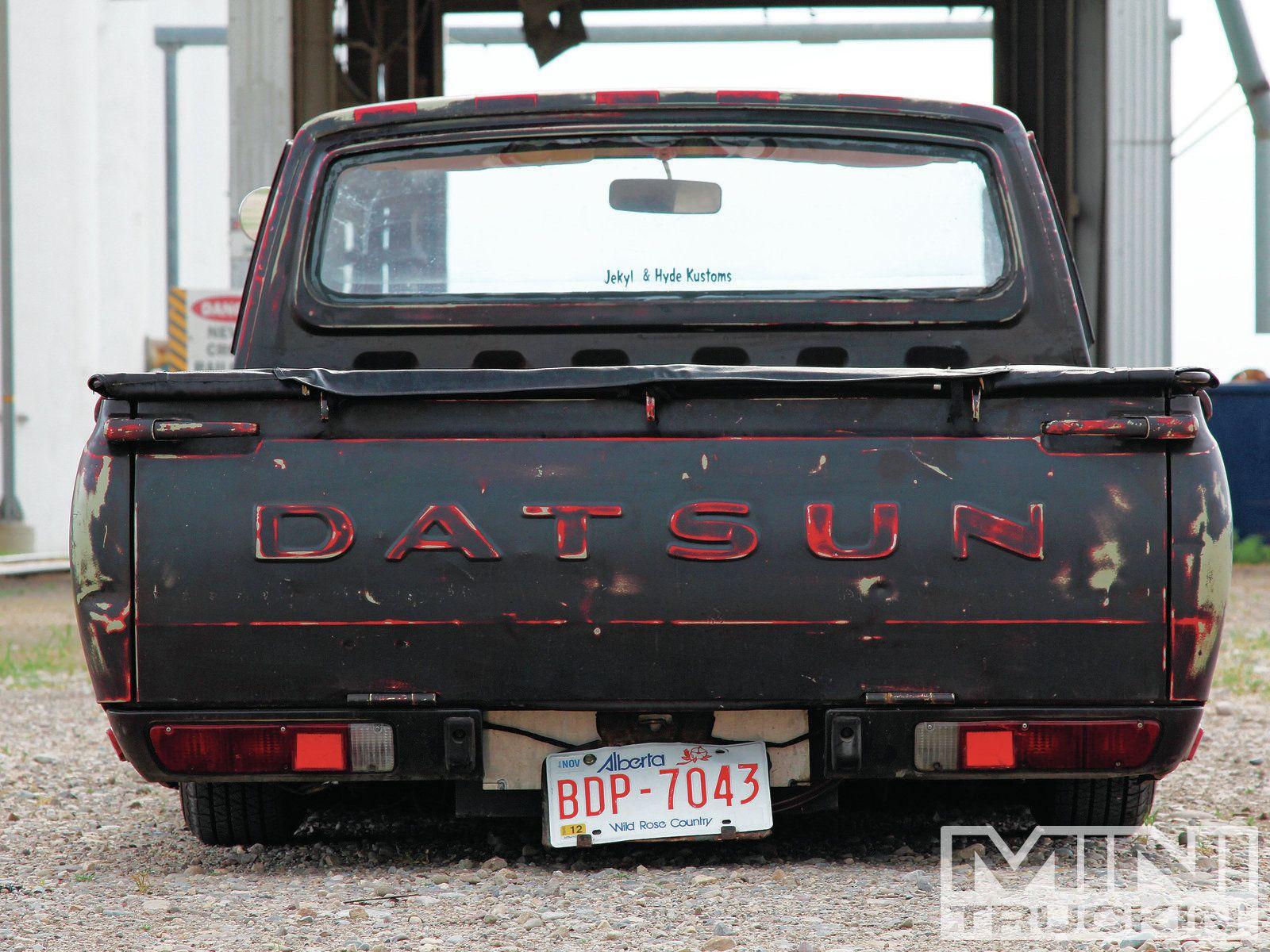 Nissan datsun 510 truck - 1973 Datsun 620 Tailgate Photo 9
