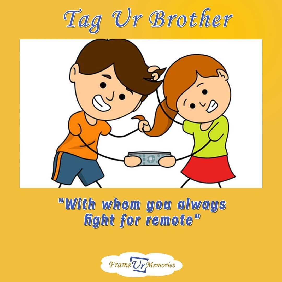 Pin By Dhruv Shah On Birthday Ideas Funny Brother Birthday Cards Sisters Drawing Brother And Sister Fight