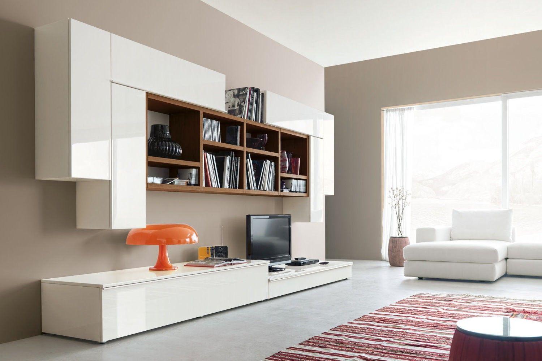 Parete Attrezzata moderna dal design minimalista 548 nella