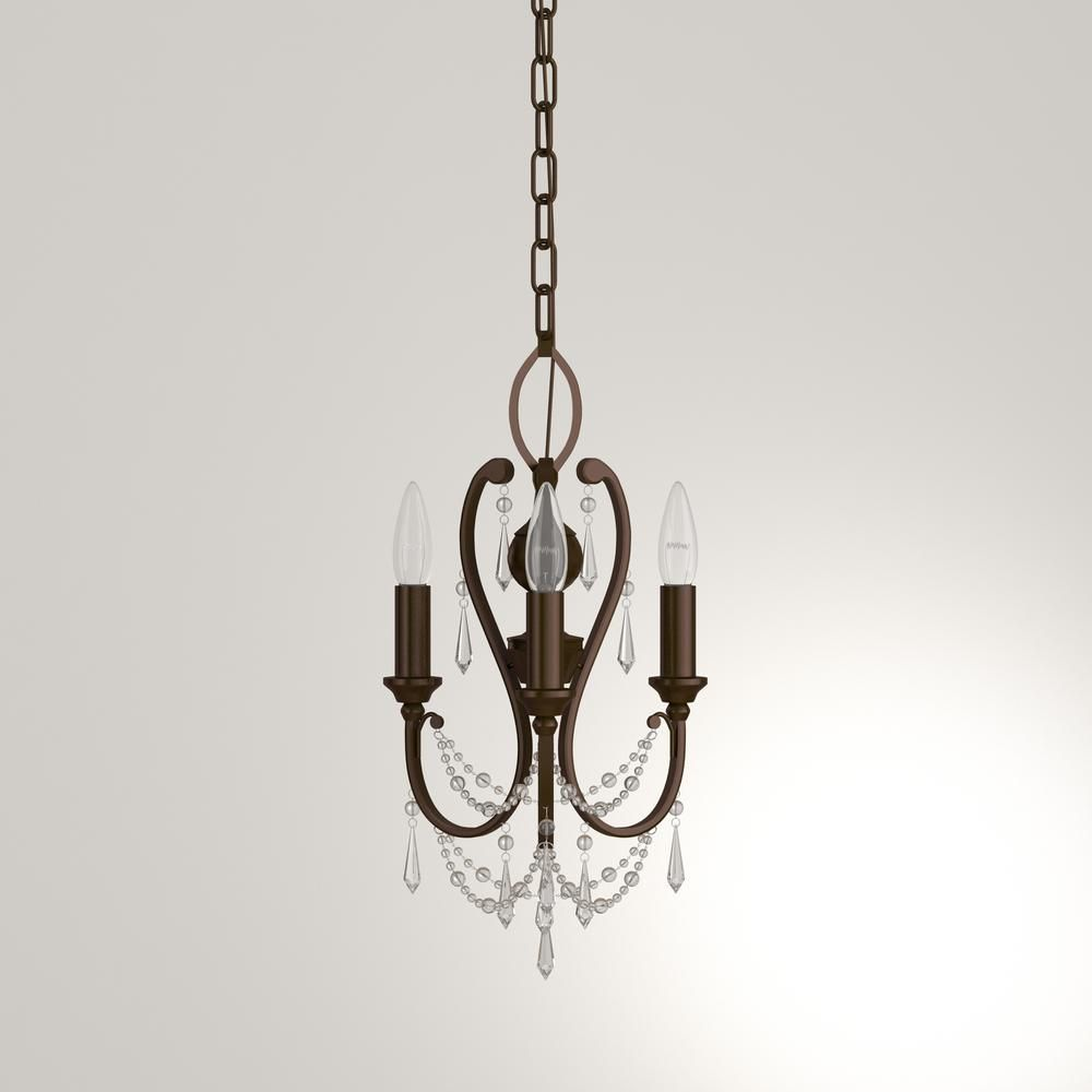 Minka lavery light vintage bronze mini chandelier mini