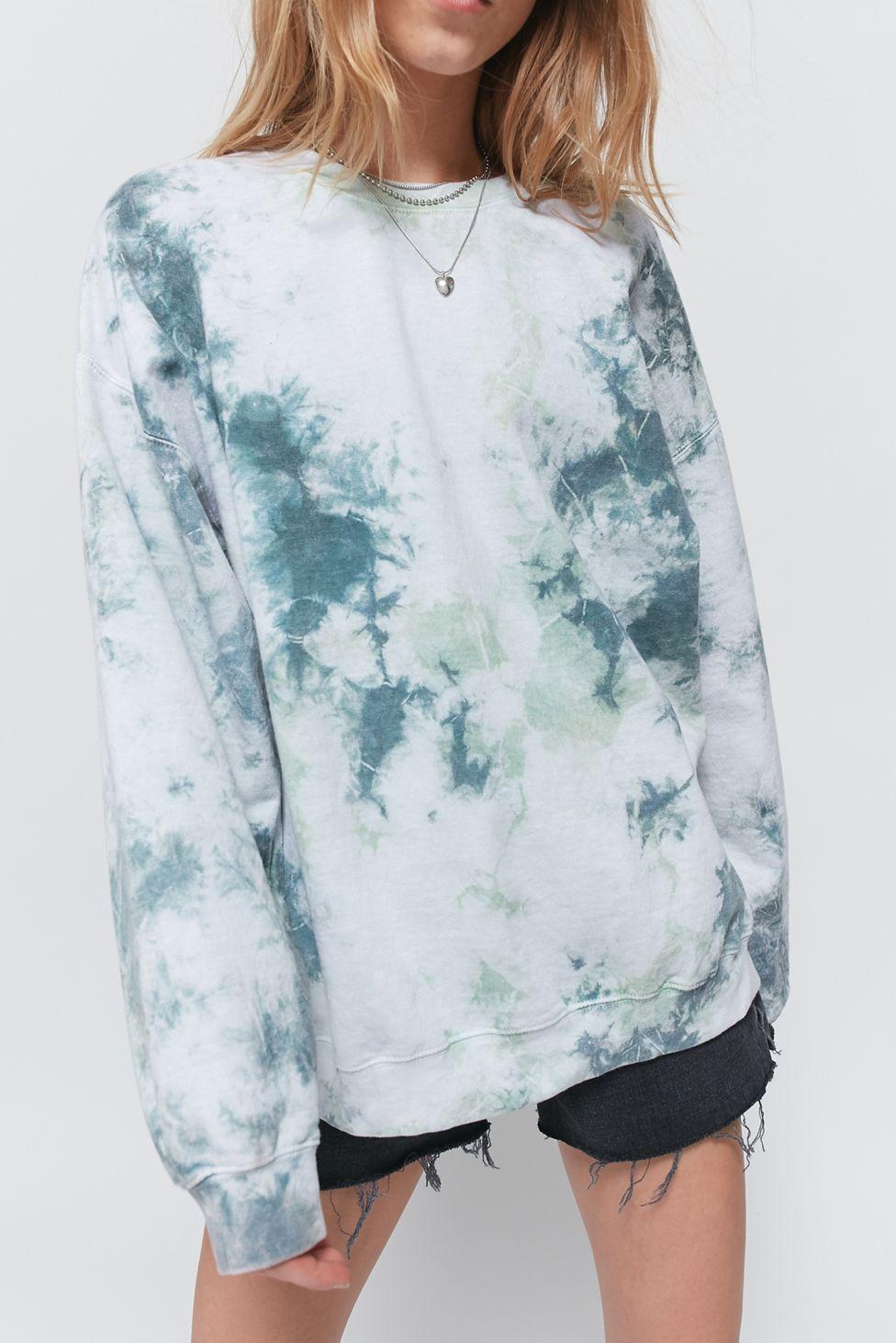 Urban Renewal Recycled Tie Dye Crew Neck Sweatshirt In 2021 Tie Dye Outfits Tie Dye Shirts Tie Dye Hoodie [ 1463 x 976 Pixel ]