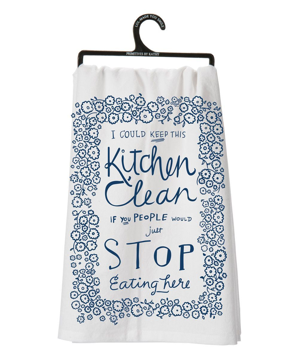 Clean Kitchen Tea Towel | Kitchen dishes, Towels and Kitchens