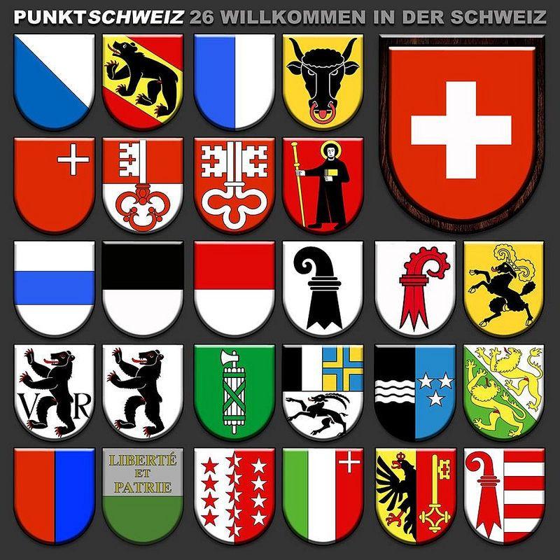 The 26 Cantons Of Switzerland Zurich Bern Luzern Uri Schwyz Obwalden Nidwalden Glarus Zug Freibur Swiss Switzerland Switzerland Cantons Swiss Cantons