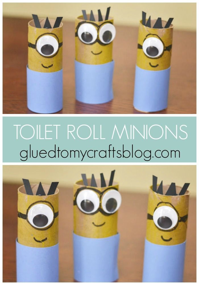 Two Impressive Minion Inspired Kid Crafts Minion Craft