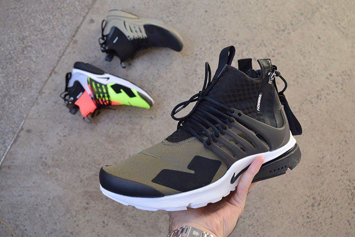 The ACRONYM x Nike Air Presto collaboration is given another look, which  features three distinct colorways.