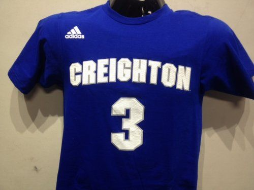 Creighton Bluejays #3 Adidas Royal Blue T-Shirt Jersey Design « Ever Lasting Game