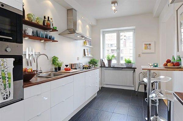 Skandinavische Küchenideen - Kleine Küche Ideen | Küchen Ideen ...