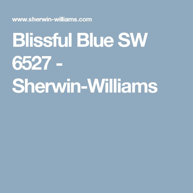 Blissful Blue Sw 6527 Sherwin Williams Sherwin Williams Paint Colors Sherwin Williams Purple Paint Colors