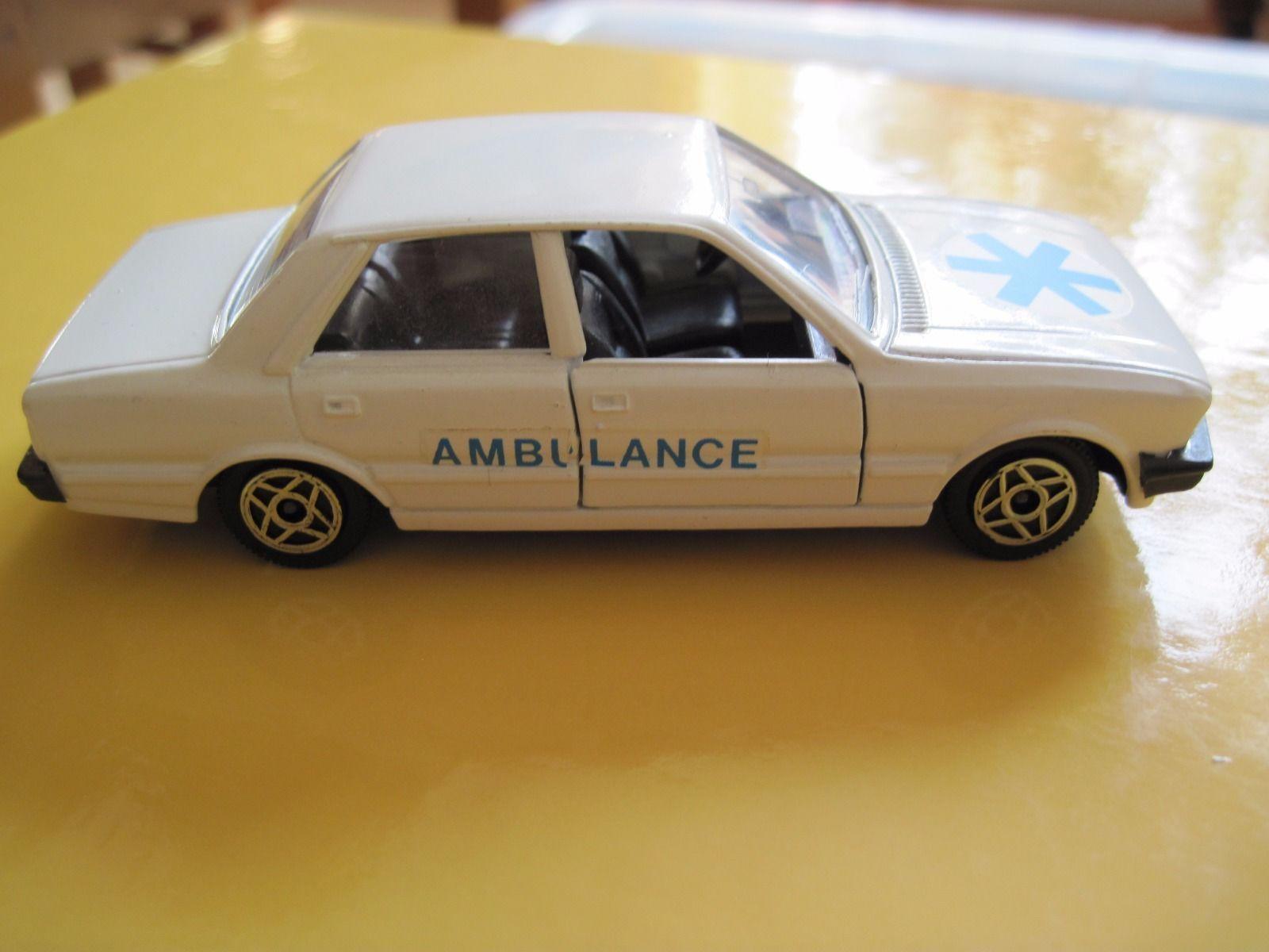 SOLIDO PEUGEOT 505 AMBULANCE CAR 1:43 SCALE | eBay | TOY CARS ...