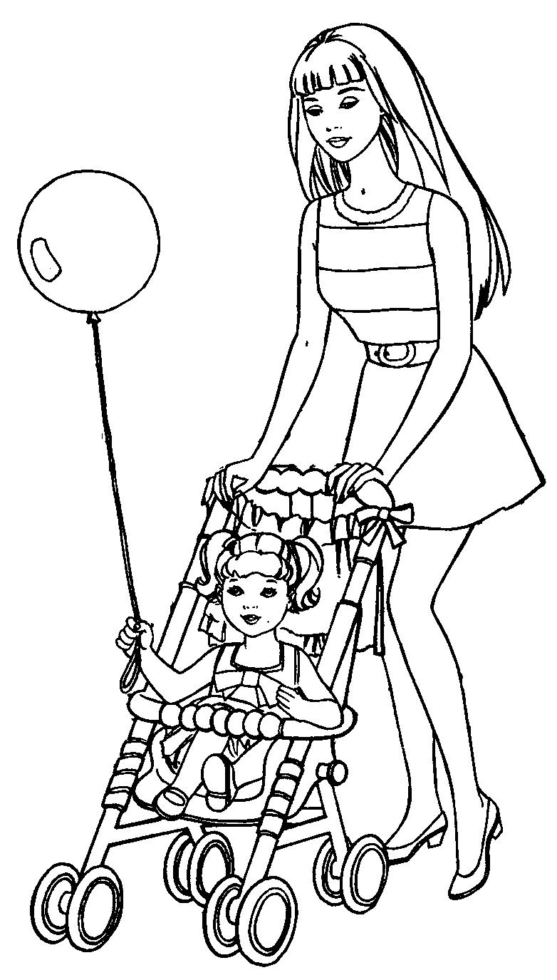 12 Desenhos da Barbie para imprimir. Lindos desenhos da Barbie para ...