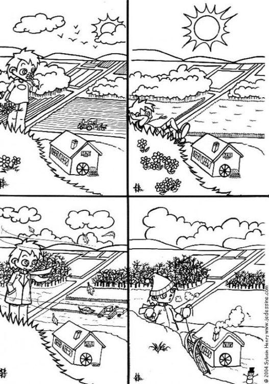 Ausmalbilder Jahreszeiten Ausmalbilder Fur Kinder Jahreszeiten Ausmalbilder Zum Ausdrucken Ausmalen