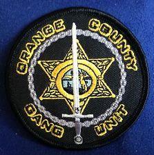 Florida Orange County Sheriff Gang Unit Patch / Los Angeles