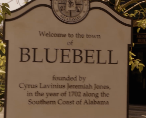 live in a town like bluebell alabama six feet above pinterest