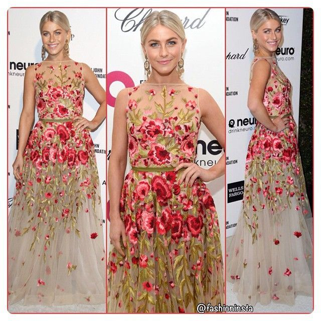 Julianne Hough in Naeem Khan                       ... #juliannehoughstyle Julianne Hough in Naeem Khan                       ... #juliannehoughstyle