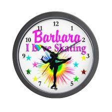 SKATING PRINCESS Wall Clock http://www.cafepress.com/sportsstar/10189550 #Ilovefigureskating #Iceprincess #Figureskater #IceQueen #Iceskate #Skatinggifts #Iloveskating #Borntoskate #Figureskatinggifts #PersonalizedSkater