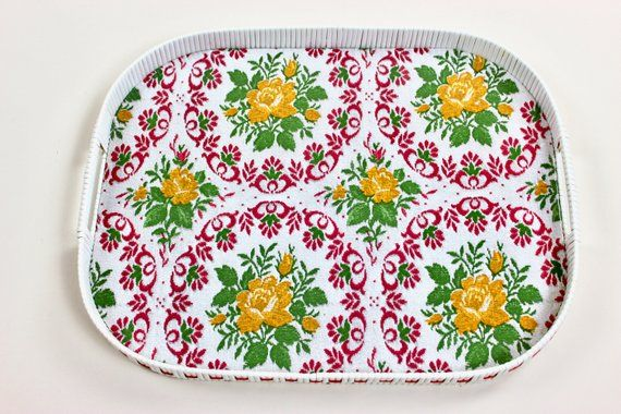 Küche 70er Grün 70s Tray, Serving Tray, Accessories, Pink Green Yellow ...