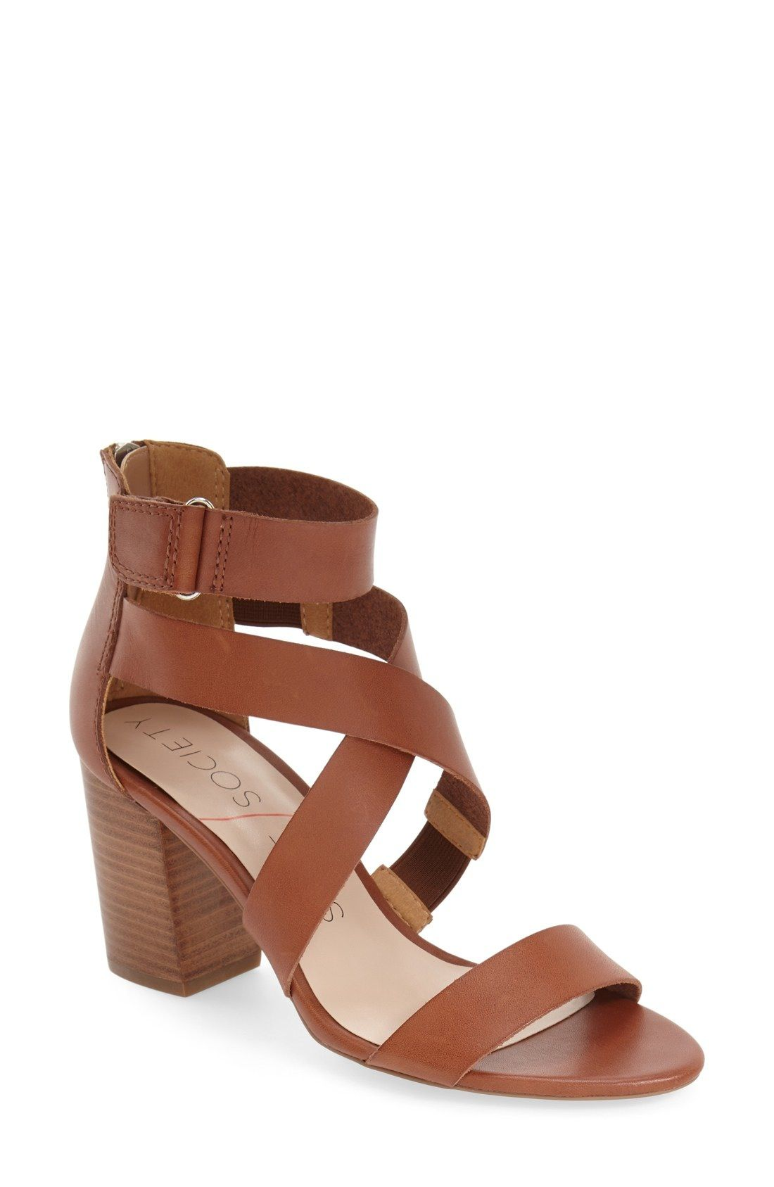 a7d1c5c8531 Sole Society  Sabina  Block Heel Sandal (Women) available at  Nordstrom