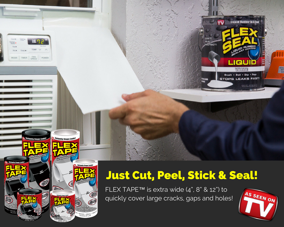 Flex Tape Flex Seal Family Of Products Official Site Waterproof Tape Tape Flex