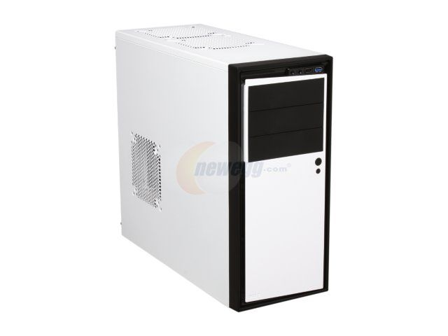 Newegg.Com - NZXT Source 210 Elite White Steel with painted interior ATX Mid Tower Computer Case w/ Black Front Trim