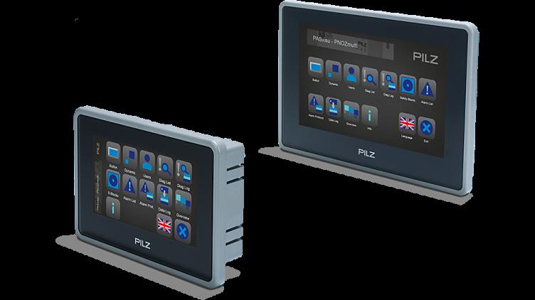 Nuevos paneles PMIvisu v7e low cost Pilz para
