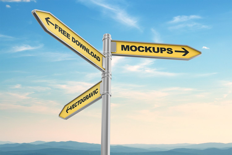 Free Street Sign Mockups Free Mockup Sign Mockup Sign Mockup Free Street Signs