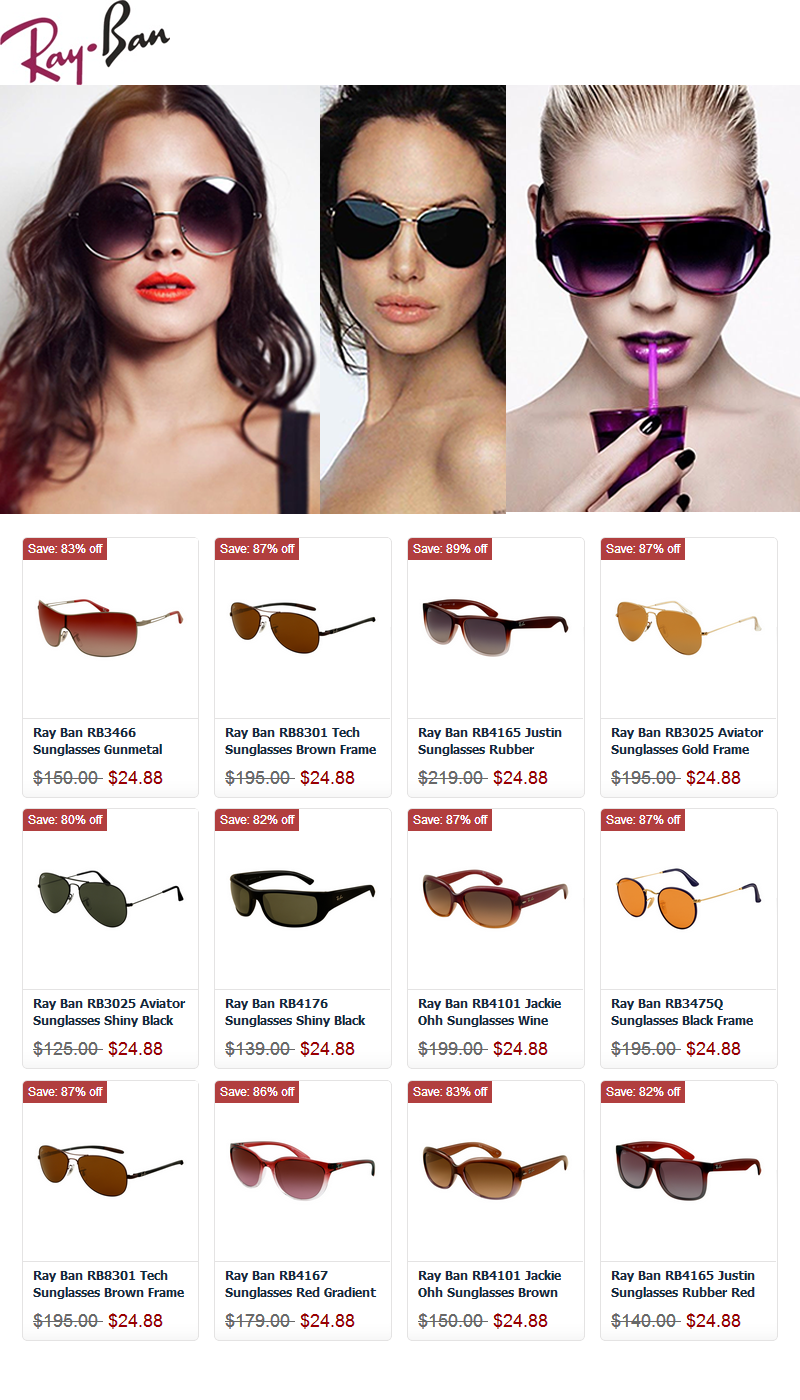 Surprise!Rayban Sunglasses Only $24 Now! | Ray-Ban-Sonnenbrillen ...
